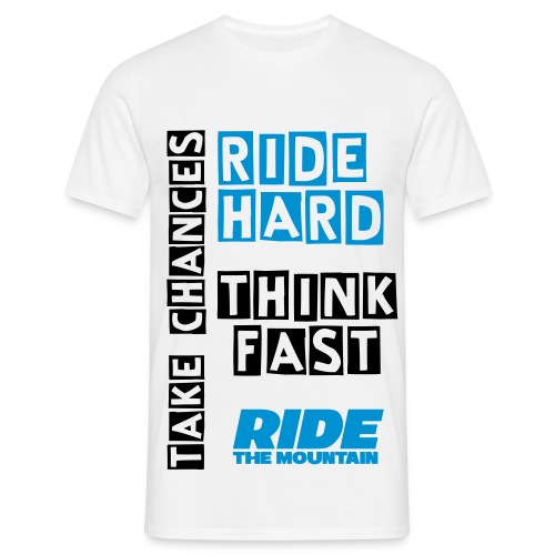 Ride The Mountain - Men's T-Shirt