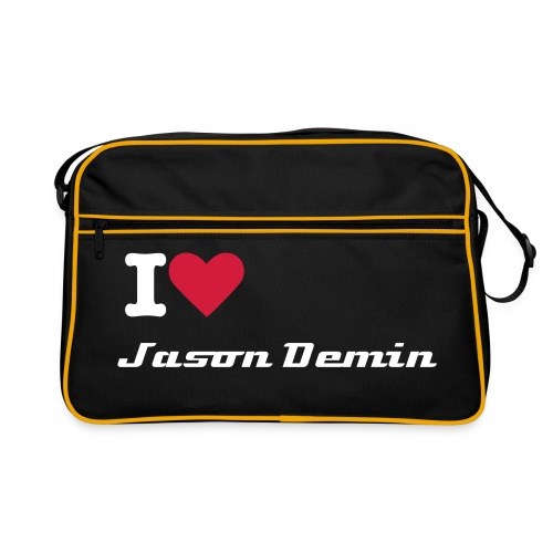 ''I Love Jason Demin'' Tas - Retro-tas