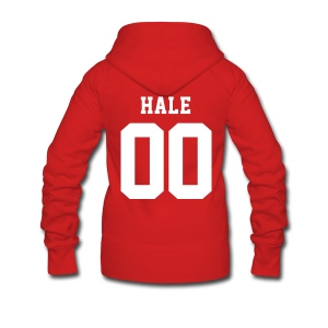 HALE 00 - ZipUp (S Logo, NBL) - Women's Premium Hooded Jacket