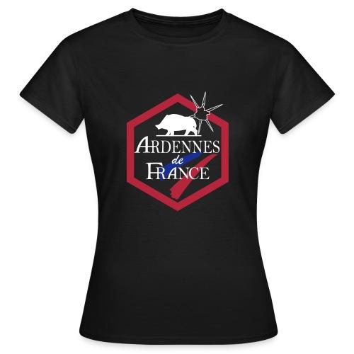 Tenues de travail Ardennes de France - T-shirt Femme
