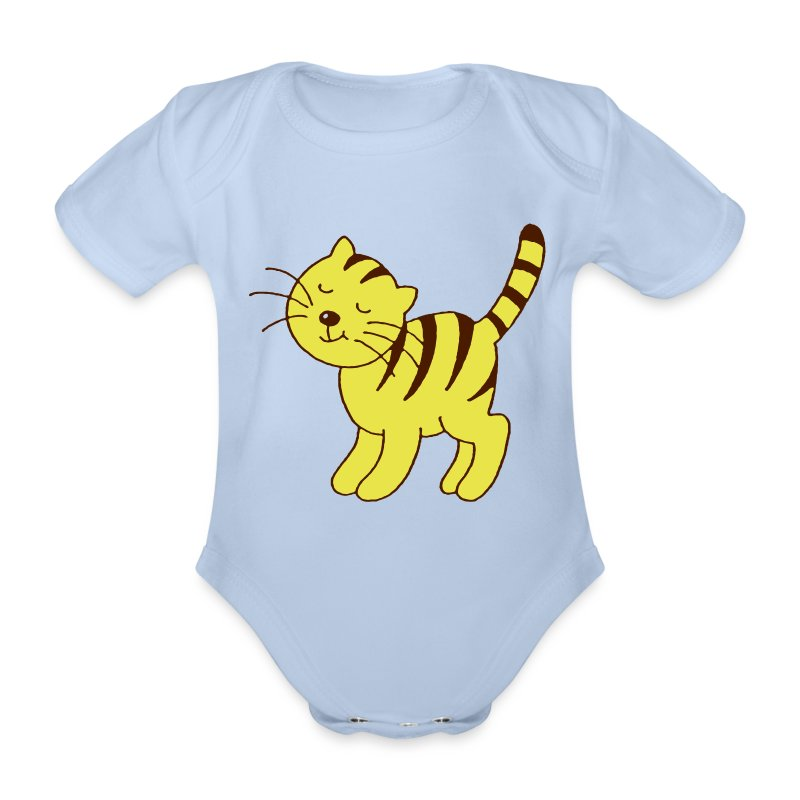 poes - Organic Short-sleeved Baby Bodysuit
