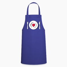 heart love eating g1  Aprons