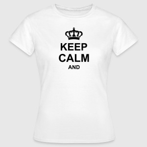 keep_calm_and_g1 T-Shirts - Women's T-Shirt