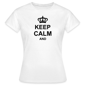 keep_calm_and_g1 T-Shirts - Frauen T-Shirt