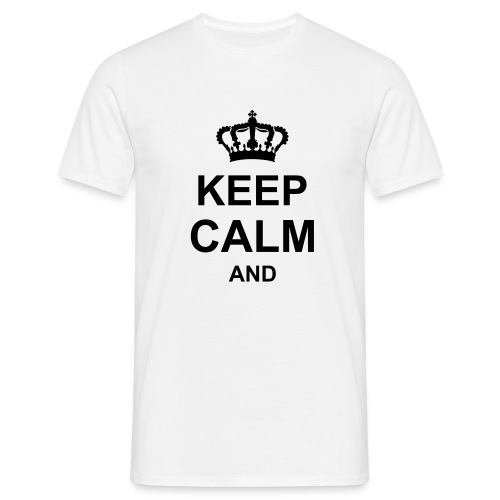 keep calm and g1 T-shirts - Maglietta da uomo
