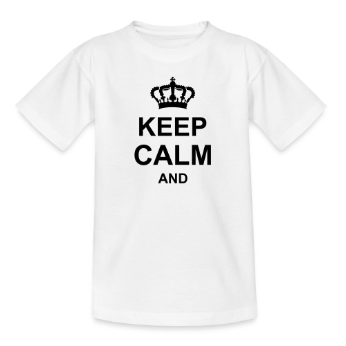 keep_calm_and_g1 T-shirts - Maglietta per bambini