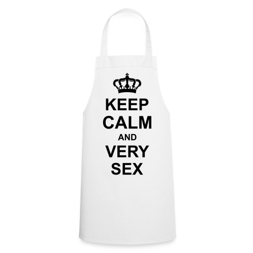 keep_calm_and_very_sex_g1 - Grembiule da cucina