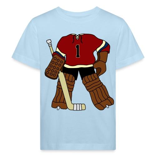 Vintage Ice Hockey Goalie Children's Organic T-Shirt - Kids' Organic T-Shirt