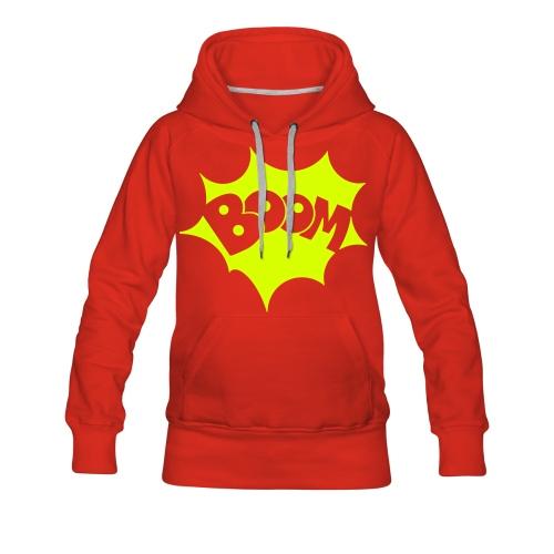 Boom Pullover - Frauen Premium Hoodie