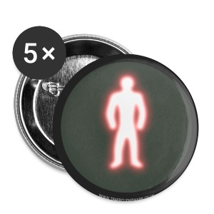 TLW - Red man Badge - Buttons large 56 mm