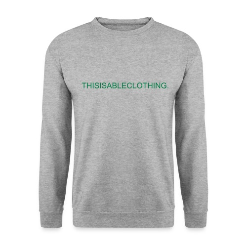 ABLE SWEATSHIRT THISISABLECLOTHING. GREEN - Männer Pullover
