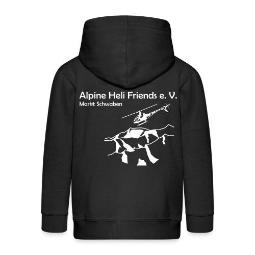 Alpine Heli Friends Kapuzenjacke  Kinder - Kinder Premium Kapuzenjacke
