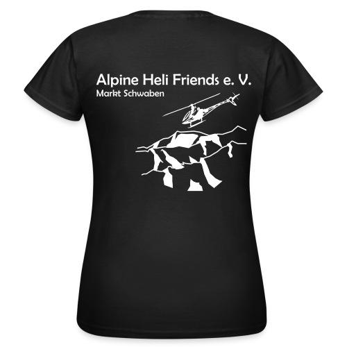 Alpine Heli Friends T-Shirt Frauen - Frauen T-Shirt