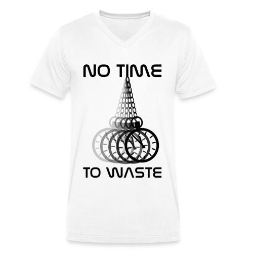 No Time - Männer Bio-T-Shirt mit V-Ausschnitt von Stanley & Stella
