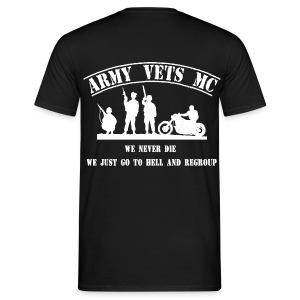 Front, back, left & right - Männer T-Shirt