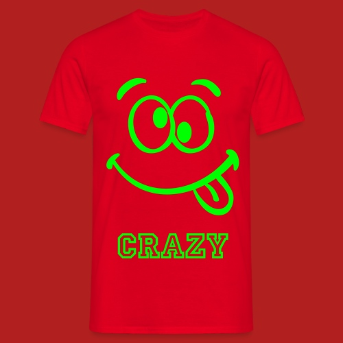 Crazy - Men's Classic T-shirt - Men's T-Shirt