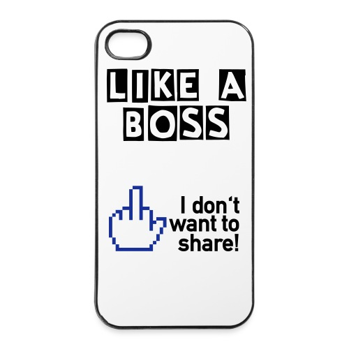 iPhone 4/4S cover - (Like a boss) - iPhone 4/4s Hard Case