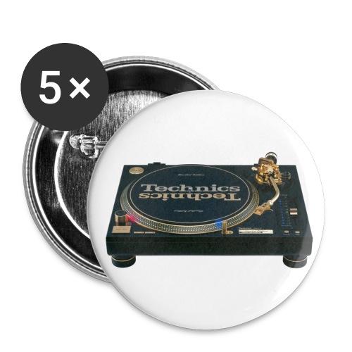 Technics - Buttons klein 25 mm (5er Pack)