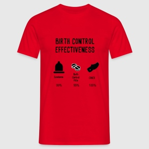 Birth Control Effectiveness T-Shirts - Men's T-Shirt
