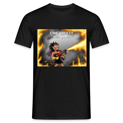 Fire Safety - Classic Men's T-shirt - Men's T-Shirt
