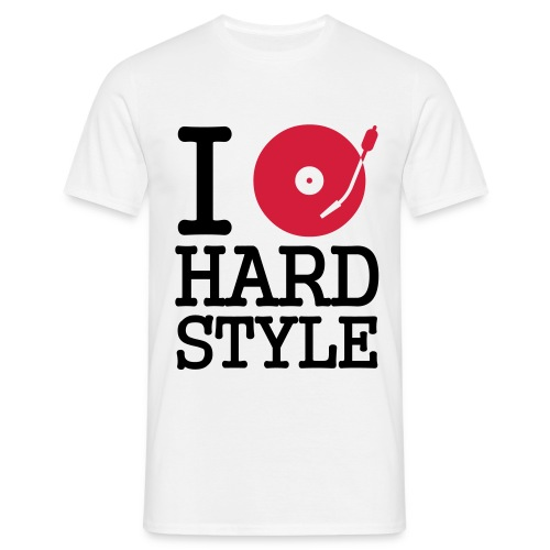 Turntable HardStyle Regular - Mannen T-shirt