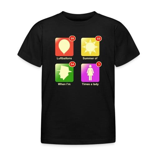 Muziek apps - Kinderen T-shirt