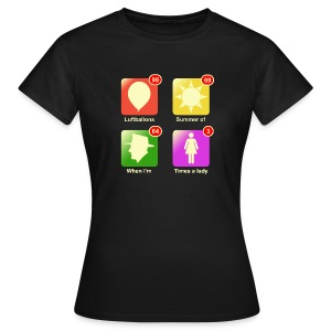 Music apps - Vrouwen T-shirt