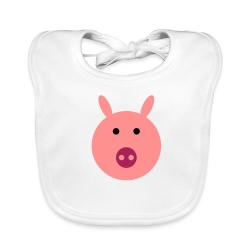 Schweinchen Oink Latz - Baby Bio-Lätzchen