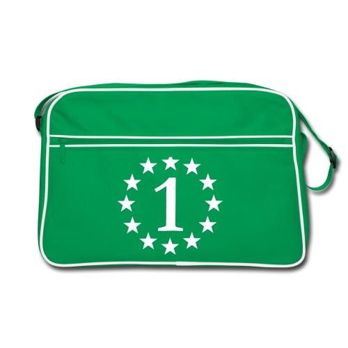 Nummer 1 Tasche - Retro Tasche