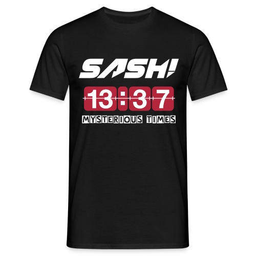 SASH! - MYSTERIOUS TIMES (NEW) - Men's T-Shirt