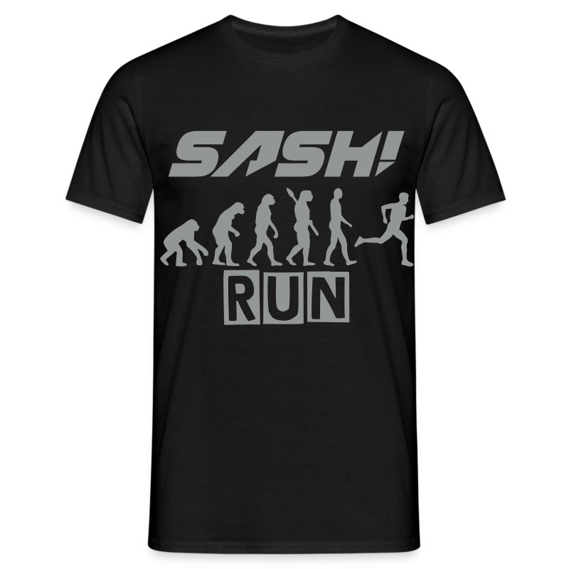 SASH! - RUN  (NEW) - Men's T-Shirt