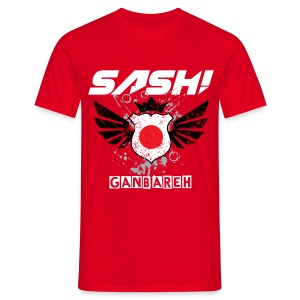 SASH! - GANBAREH  (NEW) - Men's T-Shirt