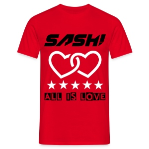 SASH! - ALL IS LOVE (NEW) - Men's T-Shirt