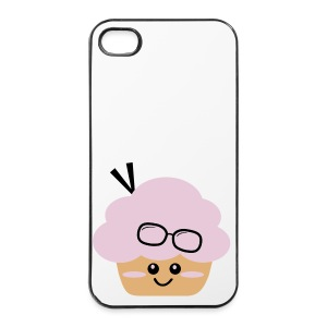 Granny Cupcake - iPhone 4/4s Hard Case
