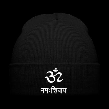 Om Namah Shivaya Mantra. Sanskrit Symbol Sign Gorras