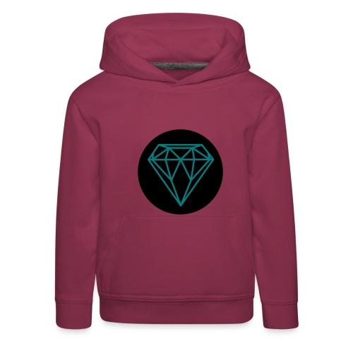 Diamond Sweater Kinderen - Kinderen trui Premium met capuchon