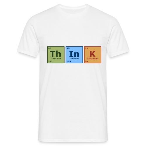 Think - periodická tabuľka - Men's T-Shirt