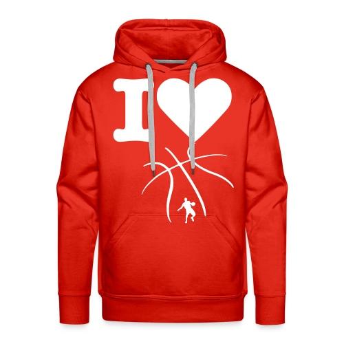 Sweater Basketball - Mannen Premium hoodie