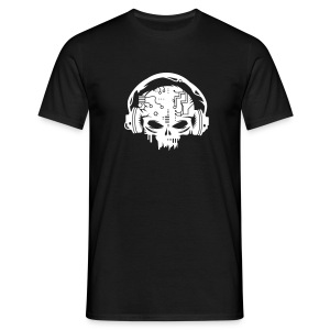 Cyborg Skull - Men's T-Shirt