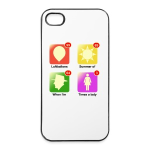 Muziek apps - iPhone 4/4s hard case