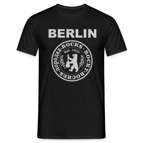 Berlin Rockt   Männer Shirt - Männer T-Shirt