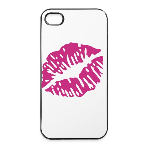 iPhone 4/4s hoesje: Kiss - iPhone 4/4s hard case