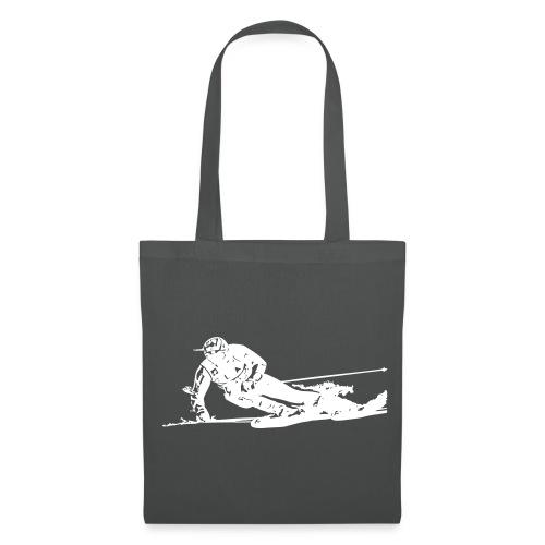 Skieur de descente - Tote Bag
