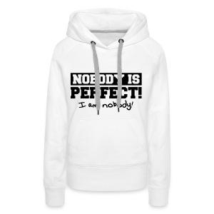 Vrouwen Premium hoodie - Leuk voor op een feestje, of in de stad.