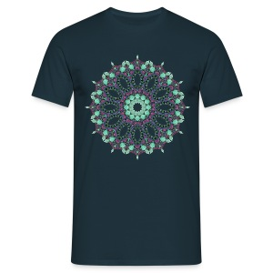 Freudentanz I - Mandala I - Männer T-Shirt