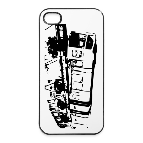 Wo die Busse fliegen - iPhone 4/4s Hard Case