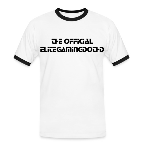 The Official EliteGamingDotHD - Men's Ringer Shirt