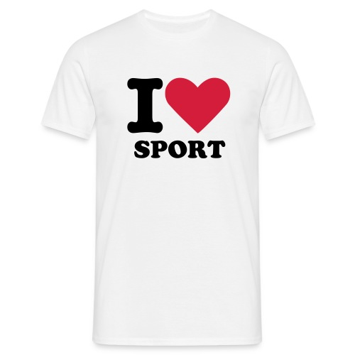 I love Sport - Men's T-Shirt