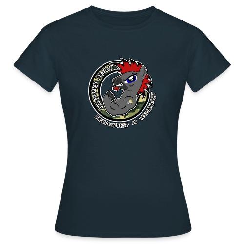 Hardcore Brony - Dame-T-shirt