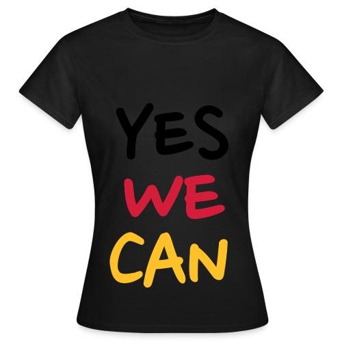 camiseta mujer yes we can - Camiseta mujer